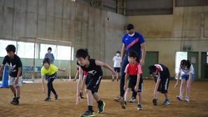 【陸上競技部】小学生向け「かけっこ教室」を開催(八千代町;茨城県)