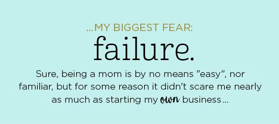 new business blog biggest fear failure