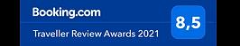 Traveller Review Awards 2021 logo