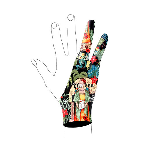 Frida Art Glove l Digital Artist Glove l Drawing Glove l Wacom Glove