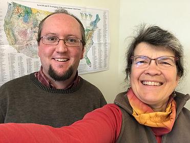 Jamie Trammel GIS professor and Kristina
