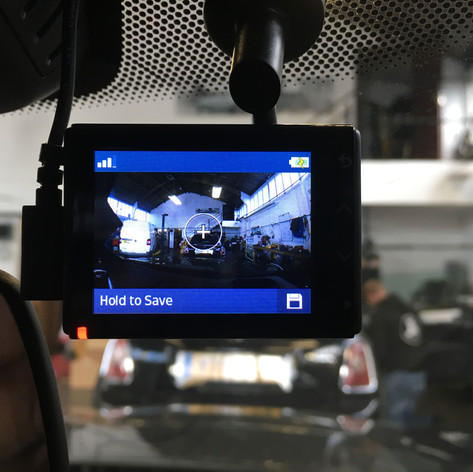 Garmin dash cam install