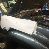 Toyota landcruiser snorkel install