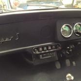 classic mini dash build with hidden centre channel speaker