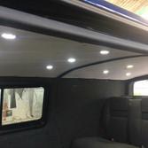 Vw T5 roof lighting