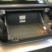 Bmw e93 sub woofer and ampilifer install