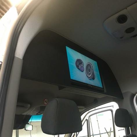 "Mercedes Sprinter mini bus 32""tv install"