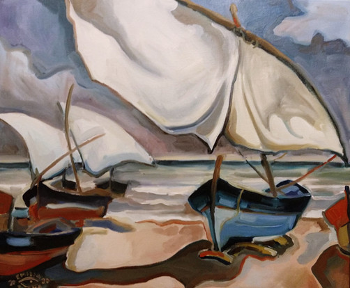 La orilla del Mediterráneo