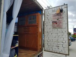 Chrissie building her van home