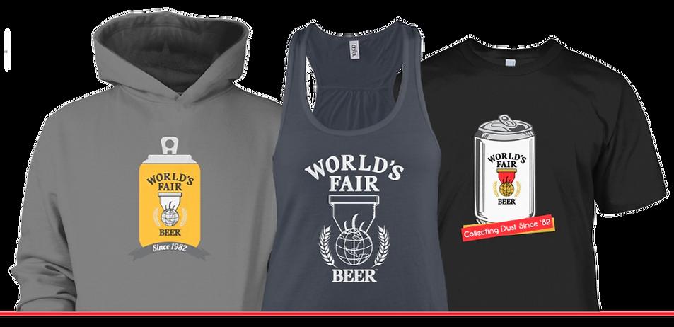 worlds fair beer shirt