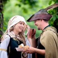 Lady Marian and Robin Hood