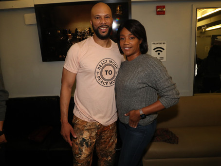 Tiffany Haddish Reveals Boyfriend Common Helps Her Cut Her Hair After...