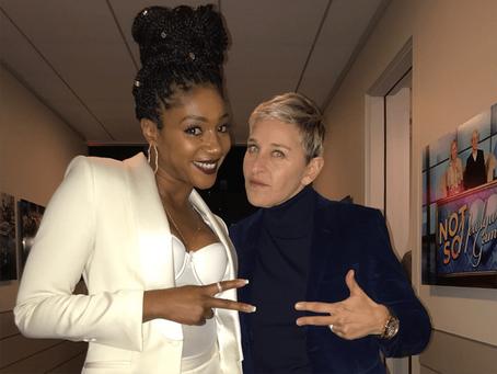 Tiffany Haddish Will be A Guest on Ellen's Season 18 Premier
