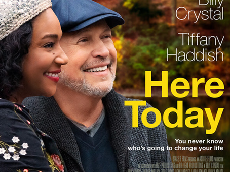 Trailer & Poster To 'Here Today' Starring Billy Crystal And Tiffany Haddish