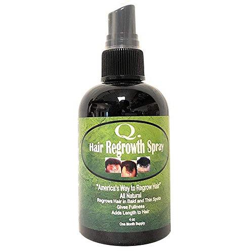 Q Hair Regrowth Spray 4oz.