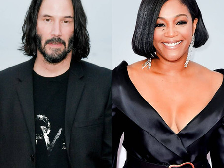 All of the Shocking Facts 10 Things You Don't Know Revealed About Keanu Reeves & Tiffany Haddish