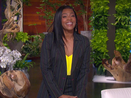 Tiffany Haddish Shares the Common Thread with Her Life Updates on EllenTube