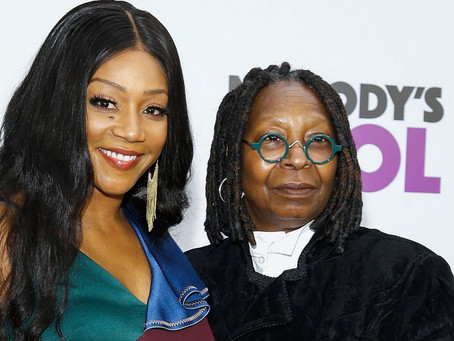 Tiffany Haddish Gets Emotional After Whoopi Goldberg Surprises Her With A Special Message