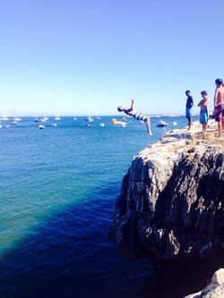 Showing locals how,Caiscais Portugal