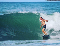 Surfing In Mauel Antonio, Costa Rica