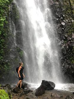 Waterfalling in Monte Verde, Costa Rica