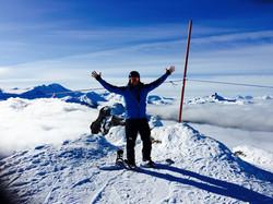Snowboarding in Whistler Canada