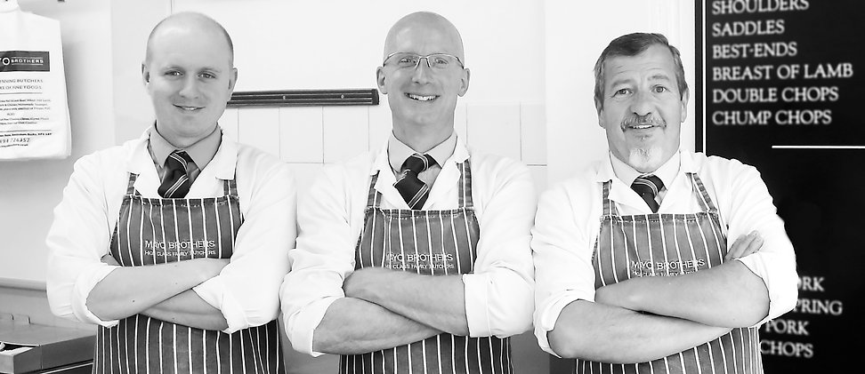 Rob Sawyer - Owner, centre of picture with Dan (left) and Dave (right)