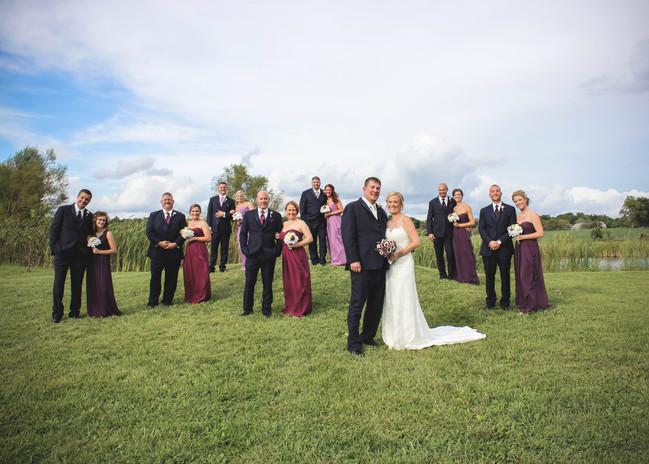 Kyle + Julie wedding  party