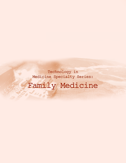 Technology in Medicine Specialty Series