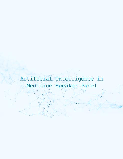 Artificial Intelligence in Medicine Spea