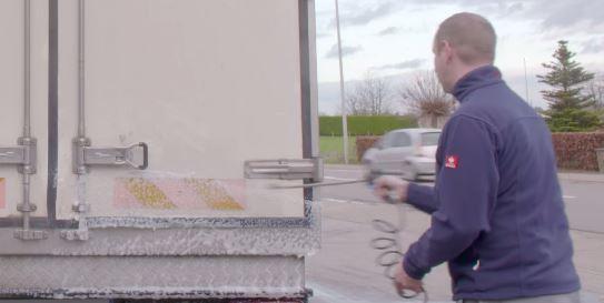 čišćenje kamiona
