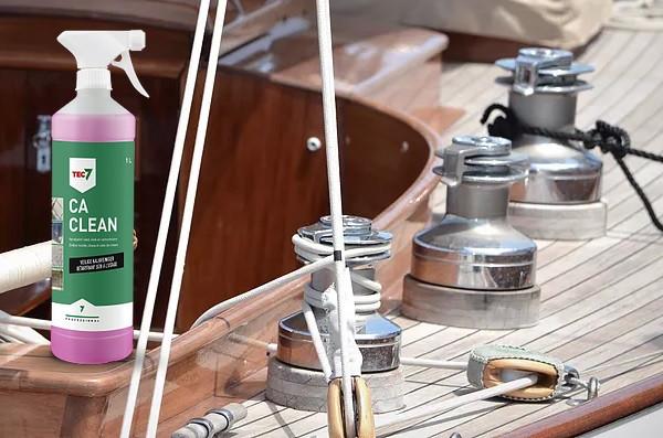 sredstvo za čišćenje inoxa na brodu