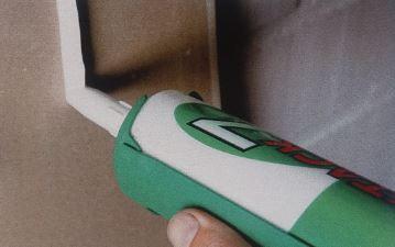 Vertikalno nanošenje X-Tack-a na gips ploču