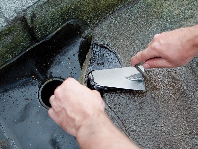 popravak mokrog krova