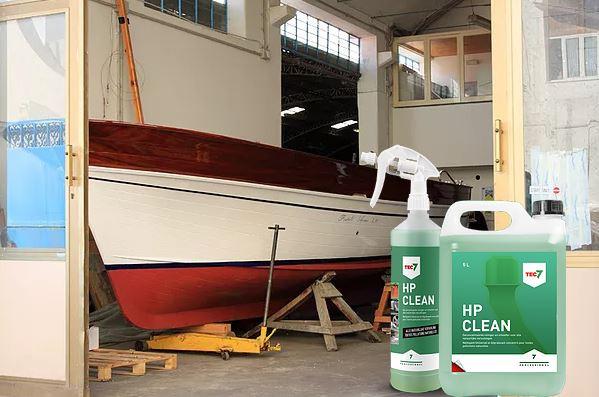 čišćenje brodova