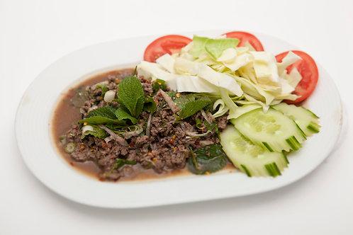 701: Rahb Neua Sap, salade van gehakt