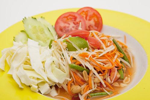 709: Som tam, Thaise salade van onrijpe papaja