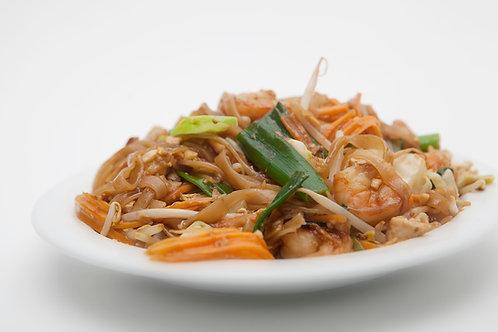 803: Pad thai, Thaise noedels met pinda's/garnalen