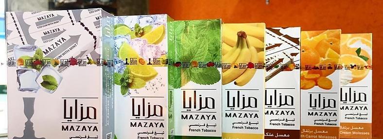 MAZAYA MOLASSES (Mu'assel) ONLY TO DUTY FREE