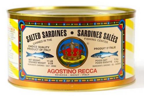 Salted Sardines, Sicily