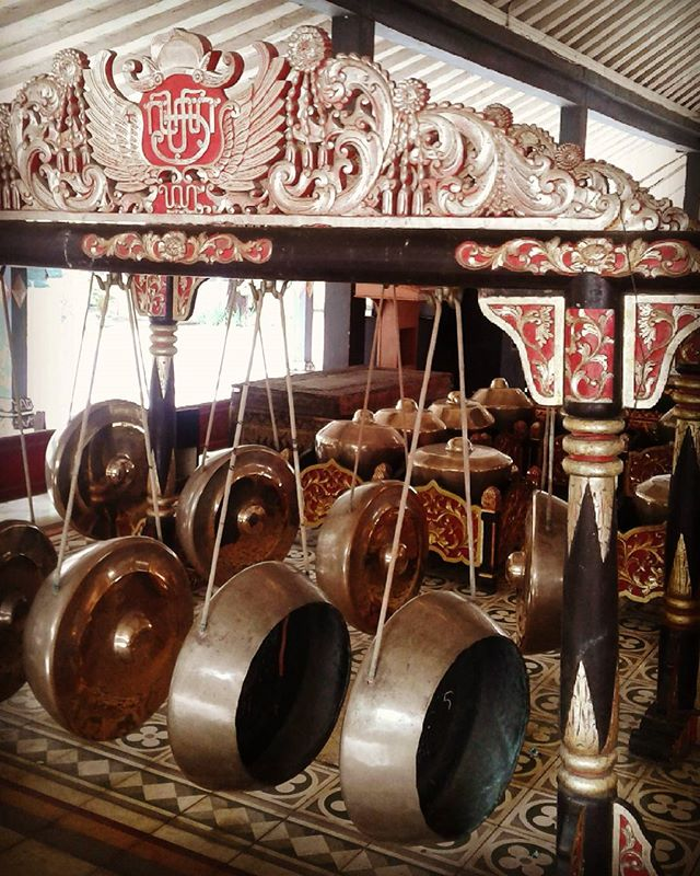 The Gamelan Orchstral Instruments