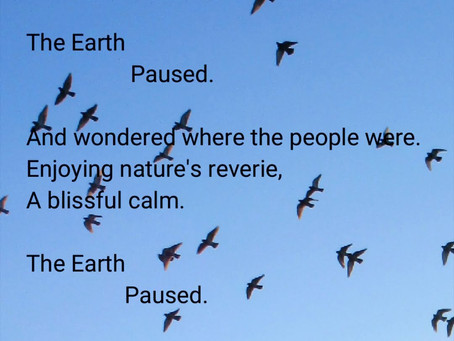 The Earth. Paused