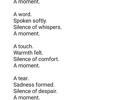 Momentary Silence