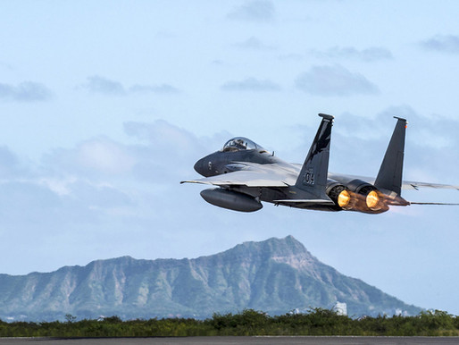 F-15C Fighter Jets Allegedly Placed On 'Alert Status' in Response to Domestic Protests