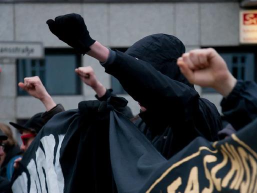 Far-left Groups Riot Against Biden, Vandalize Democrat Party Building