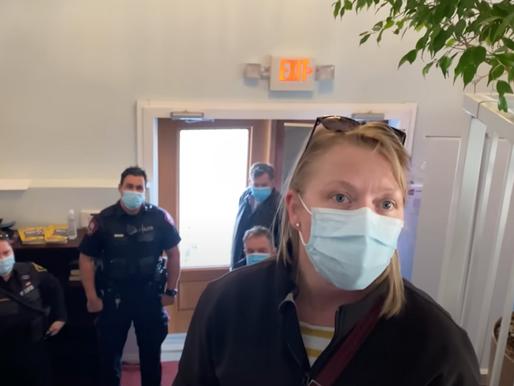 VIDEO: Calgary Pastor Kicks Police Out of His Church; Calls them 'Nazis'