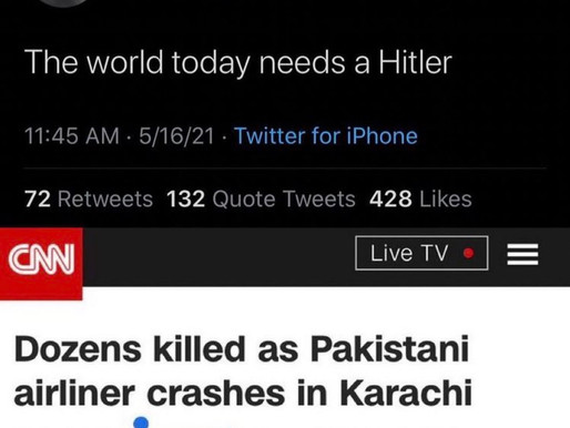 Anti-Semite CNN Contributor Tweets 'The World Today Needs A Hitler'