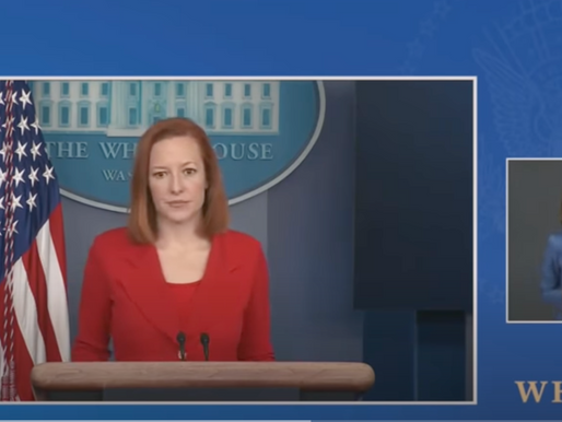 VIDEO: Reporter Calls Out Press Sec. Over Biden admin. Claiming Credit for J&J Vaccine