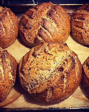 100% whole wheat sourdough extra seeds