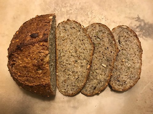 Ultra seeded baby boule